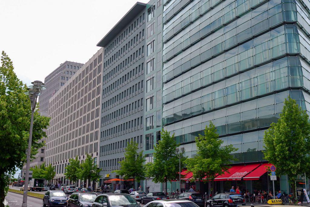 Bürohaus Ebertstrasse Übersicht