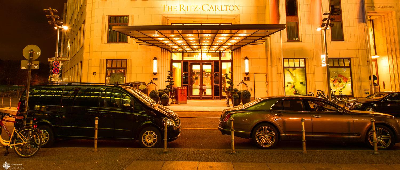 Ritz Carlton Hotel Potsdamer Platz Eingang