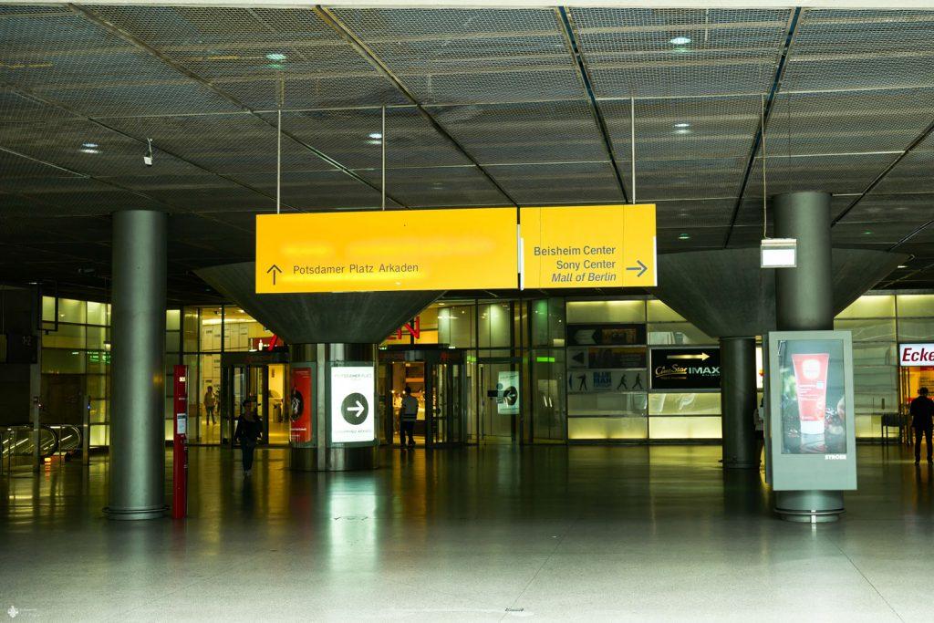 Passerelle Potsdamer Platz