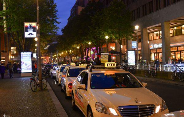 Taxistand am Potsdamer Platz