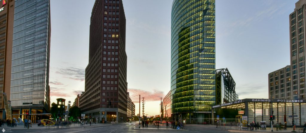 Architektur am Potsdamer Platz