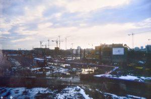 Blick auf Potsdamer Platz 1994