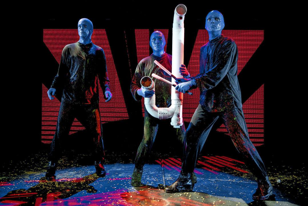 Blue Man Group Rohr