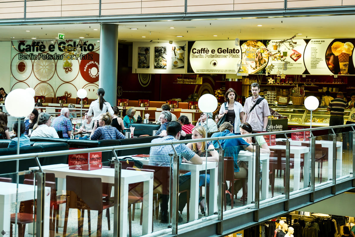 Caffé e Gelato Potsdamer Platz