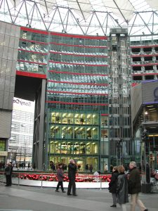 Sony Plaza am Potsdamer Platz 2001