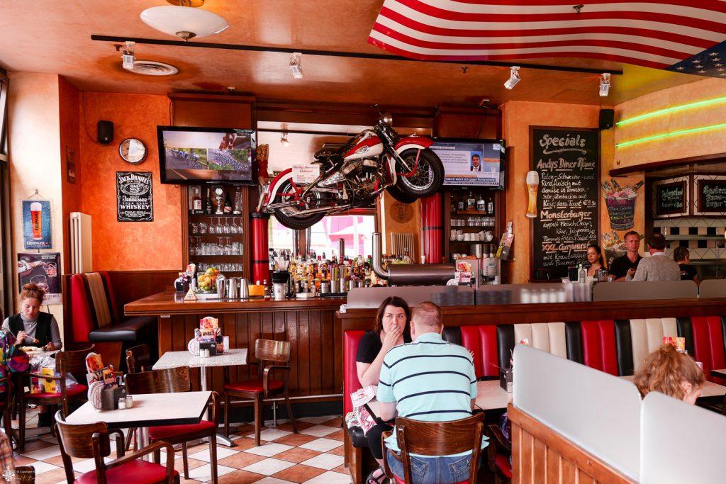 Andy´s Diner Bar Potsdamer Platz