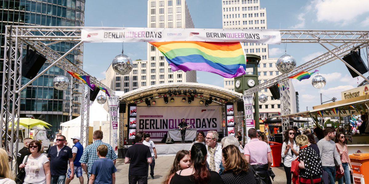 Queer Days Berlin am Potsdamer Platz