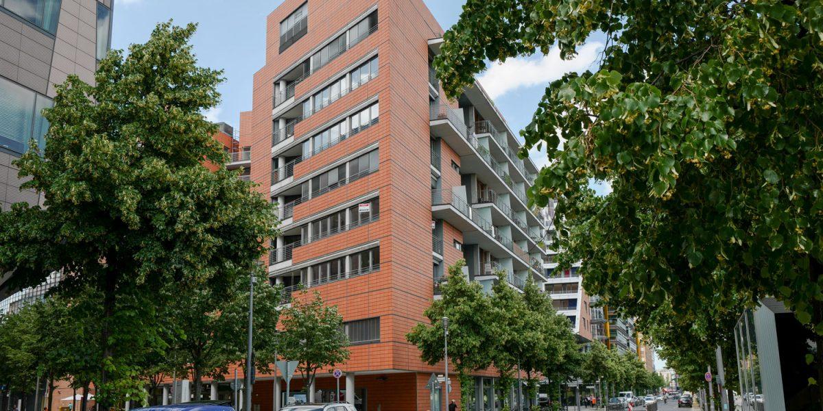 Eichhornstrasse Ecke Linkstrasse am Potsdamer Platz