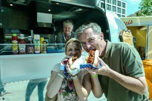 Street Food essen am Potsdamer Platz