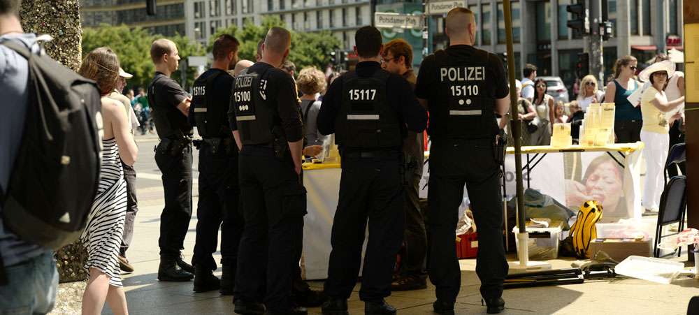Beamte-Polizei