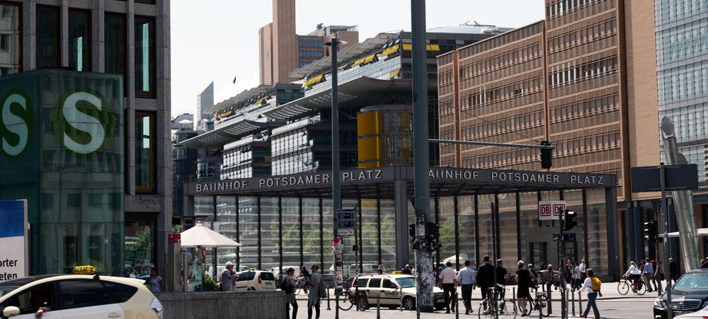 Trendviertel Potsdamer-Platz