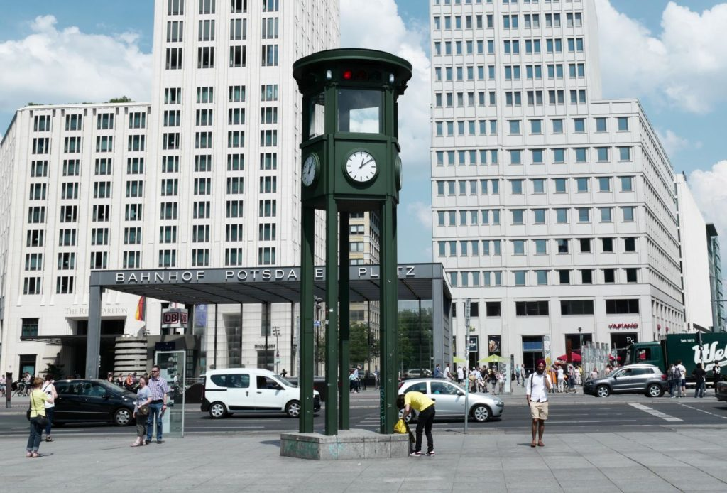 Ampel am Potsdamer Platz